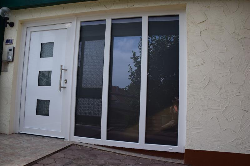 Beispiel 1 - neue Haustür